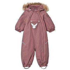 Wheat Unisex Coveralls Purple Snowsuit Nickie Plum
