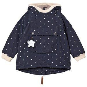 Mini A Ture Unisex Coats and jackets Navy Baby Wen B Jacket Blue Nights