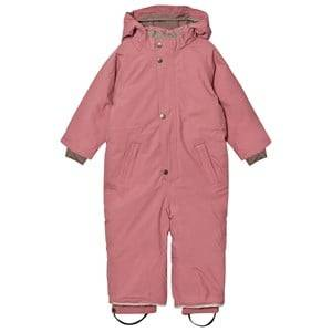 Mini A Ture Unisex Coveralls Pink Wanni K Snowsuit Nostalgia Rose