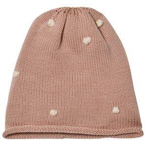Mini A Ture Girls Headwear Pink Cilia K Hood Rose Smoke