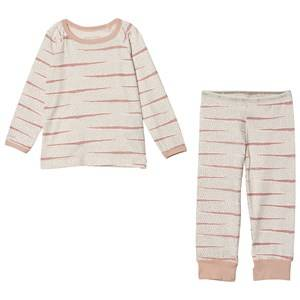 Image of Mini A Ture Girls All in ones Pink Yasha K 2 Piece Set Rose Dust