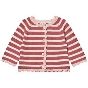 Image of Mini A Ture Girls Jumpers and knitwear Pink Viona Cardigan Withered Rose