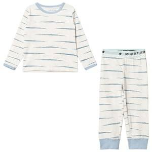 Image of Mini A Ture Girls All in ones Blue Young Playwear Blue Fog