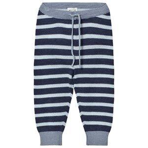 Mini A Ture Boys Bottoms Blue Tano Pants Mood Indigo