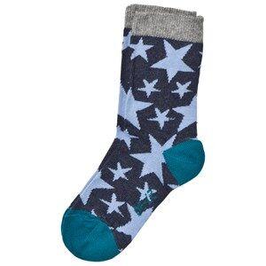 Melton Unisex Underwear Navy Star Socks Tahiti