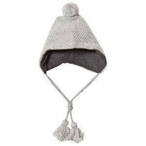 Melton Unisex Headwear Grey Lamb Wool Sailor Tassel Hat Light Grey