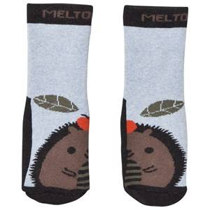 Melton Unisex Underwear Grey Abs Socks Hedgehog