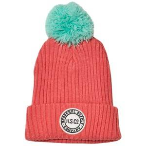 Herschel Unisex Headwear Red Sepp Youth Beanie Strawberry Ice/Lucite Green