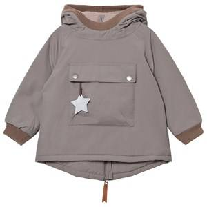 Mini A Ture Unisex Coats and jackets Grey Baby Wen B Jacket Steel Grey