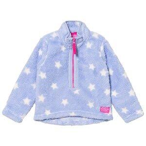 Tom Joule Girls Fleeces Blue Blue Star Fleece Jacket