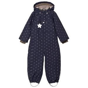 Mini A Ture Unisex Coveralls Navy Wisti M Snowsuit Blue Nights
