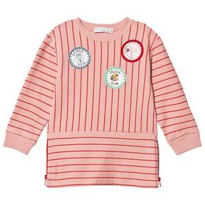Stella McCartney Kids Girls Dresses Pink Pink Badge Stripe Dress