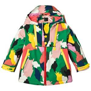 Stella McCartney Kids Girls Coats and jackets Green Multi Camo Rocket Ski Jacket