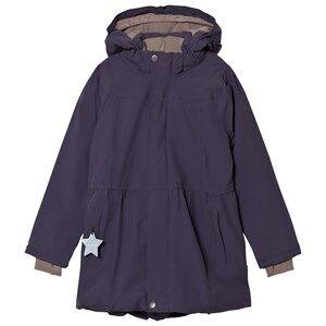 Mini A Ture Girls Coats and jackets Blue Viola K Jacket Stone Lilla