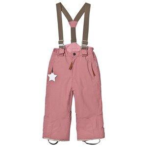 Mini A Ture Girls Bottoms Pink Witte K Pants Nostalgia Rose