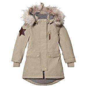 Molo Unisex Coats and jackets Grey Peace Jacket Aluminium