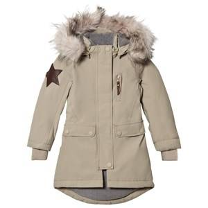 Molo Unisex Coats and jackets Grey Peace Jacket Aluminium