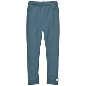 Celavi Unisex Underwear Merino Wool Leggings Goblin Blue