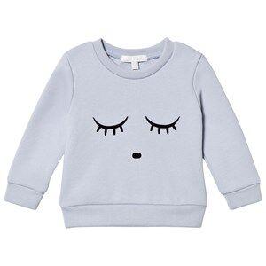 Livly Unisex Tops Blue Sweatshirt Sleeping Cutie/Ice Blue