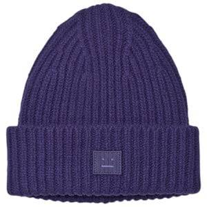 Acne Studios Unisex Headwear Blue Wool Mini Pansy Hat Royal Blue