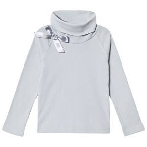 Kiss How To Kiss A Frog Girls Tops Grey Polo Tee Grey