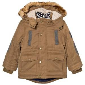 Mayoral Boys Coats and jackets Yellow Ocre Padded Hooded Parka