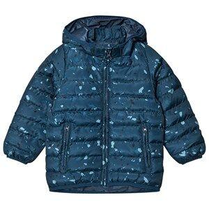 Soft Gallery Unisex Coats and jackets Blue Finley Jacket Reflecting Pond Terazzo Mega