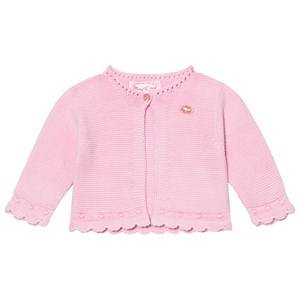 Image of Mayoral Girls Jumpers and knitwear Pink Pink Knitted Cardigan