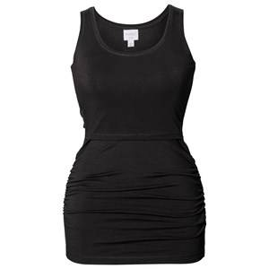 Boob Girls Maternity tops Black Athleisure Tank Top Black