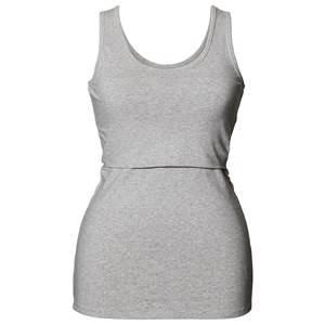 Boob Girls Maternity tops Grey Classic Tank Top Grey Melange