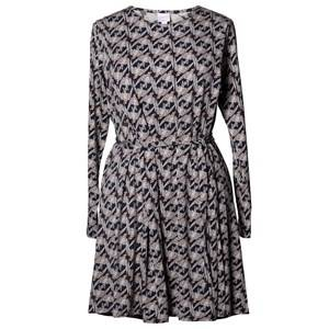 Boob Girls Maternity dresses Blue Speakeasy Dress Print Midnight Blue