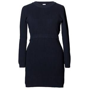 Boob Girls Maternity tops Blue Cleo Knitted Tunic Midnight Blue