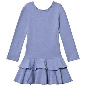 Gugguu Girls Dresses Blue Frilla Dress Ice Blue