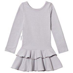 Gugguu Girls Dresses Navy Frilla Dress Dabble Grey
