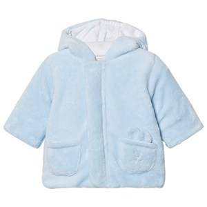 Emile et Rose Boys Fleeces Blue Lenny Fleece Coat Pale Blue