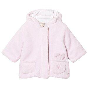 Emile et Rose Girls Fleeces Pink Layan Fleece Coat Pale Pink