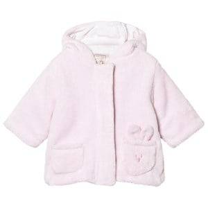 Emile et Rose Girls Fleeces Pink Layan Fleece Coat Pale Pink