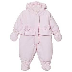 Emile et Rose Girls Coveralls Pink Layla Pale Pink Padded Coverall