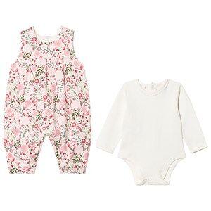 Emile et Rose Girls All in ones Multi Lola Floral Jumpsuit Set