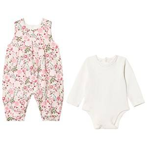 Emile et Rose Girls All in ones Multi Lola Floral Jumpsuit Set