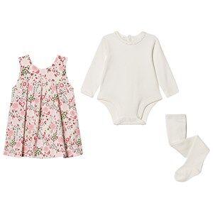 Emile et Rose Girls Dresses Multi Lana Floral Dress Set