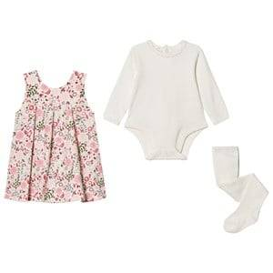 Emile et Rose Girls Dresses Multi Lana Floral Dress Set
