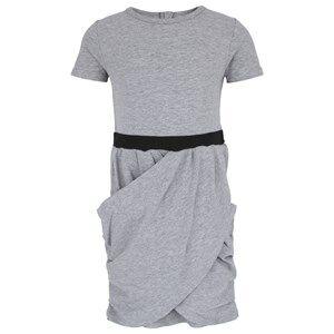 Image of The BRAND Girls Private Label Dresses Grey Hidden Dress Grey Mel