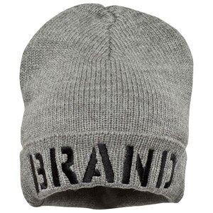 The BRAND Unisex Private Label Headwear Grey Winter Hat Grey Melange