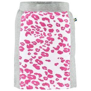 The BRAND Girls Private Label Skirts Grey Tube Skirt Grey Mel/Leo Pink