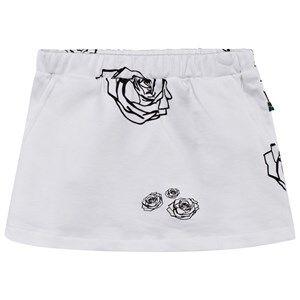 The BRAND Girls Private Label Skirts White Kit Skirt White Roses