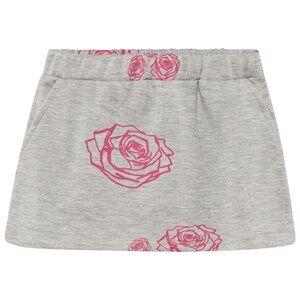 The BRAND Girls Private Label Skirts Grey Kit Skirt Grey Roses