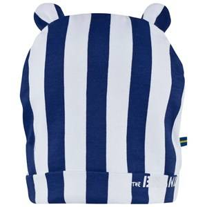 The BRAND Girls Private Label Headwear Blue Bear Hat Blue/White Stripes