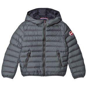 colmar Boys Coats and jackets Grey Titanium Empire Down Hooded Bomber Jacket