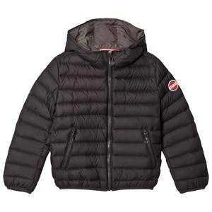 colmar Boys Coats and jackets Black Black Stud Empire Down Hooded Bomber Jacket